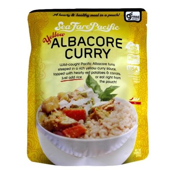 Seafare Pacific Yellow Albacore Curry (8x9 OZ)