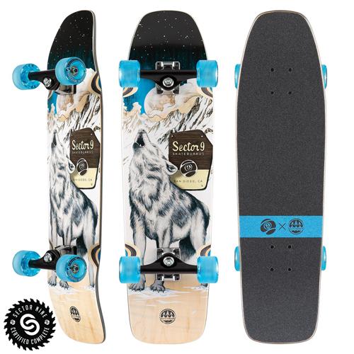 Sector9 Skateboards Howl Ninety Five Complete