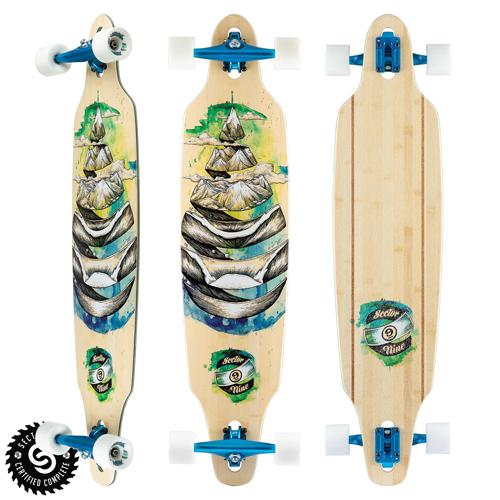 Sector9 Skateboards Droplet Lookout Complete