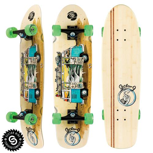 Sector9 Skateboards Van Bamboozler Complete