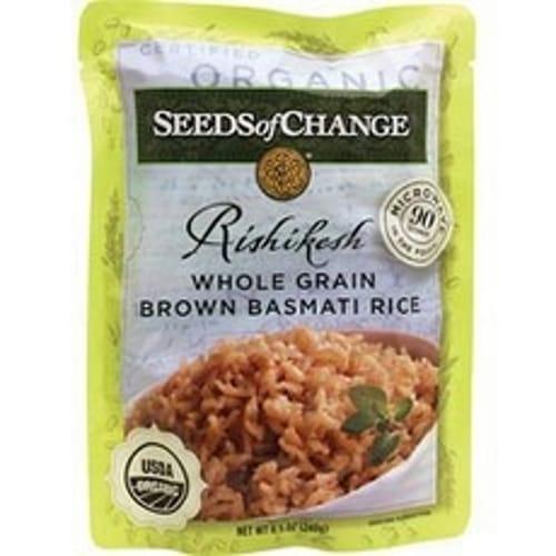 Seeds Of Change Rishikesh Whole Grain Brown Basmati Rice (12x85Oz)