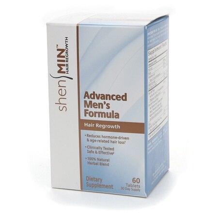 Shen Min Hair Nutrient Advanced Men's Formula 60 Tablets