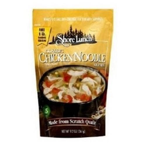 Shore Lunch Mix Soup Chicken Noodle Classic (6x92Oz)
