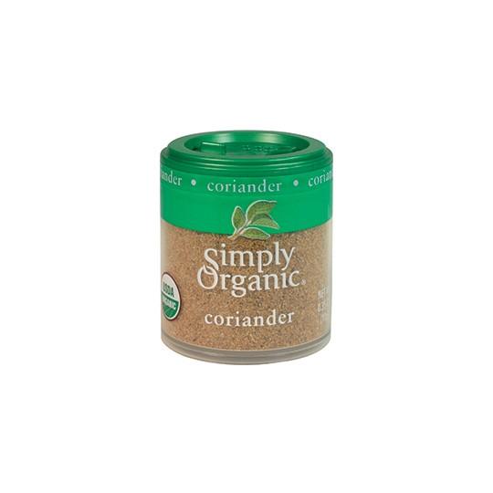 Simply Organic Mini Ground Coriander Seed (6x35 Oz)