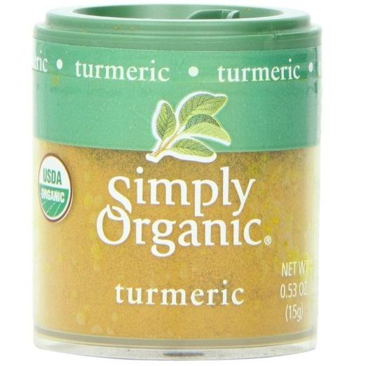 Simply Organic Mini Ground Turmeric (6x53 Oz)