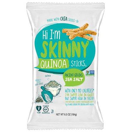 Skinny Sticks Sea Salt Quinoa Sticks (12X65 OZ)