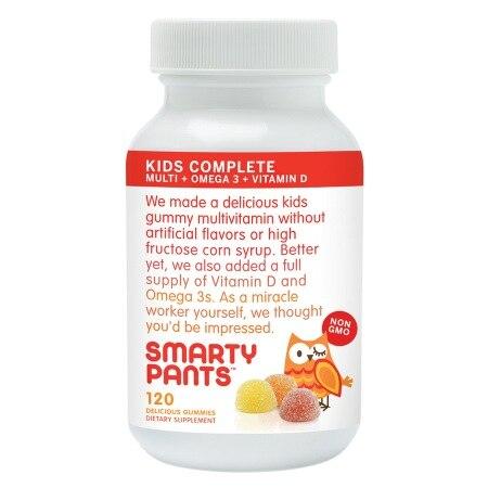 Smartypants Kids Gummy Vitamin (120 ct)
