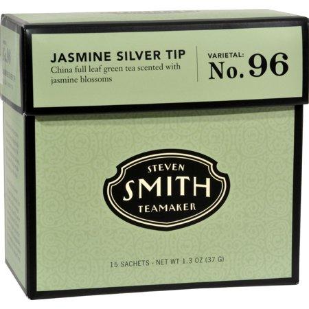 Smith Teamaker Green Tea Jasmine Slvr Tp (6 x15 Bags)