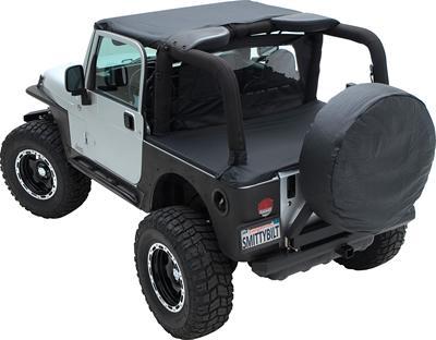 27-29 inch Spare Tire Cover, Black Diamond