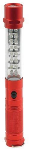Smittybilt FLASHLIGHT - GB8 - 8IN LED - 3 IN 1 LIGHT - RED 12 PACK L-1407RD