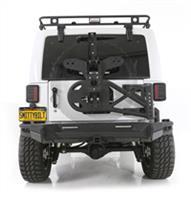 Smittybilt 07 - 15 Jeep Wrangler JK SRC Gen 2 Rear Bumper 76614