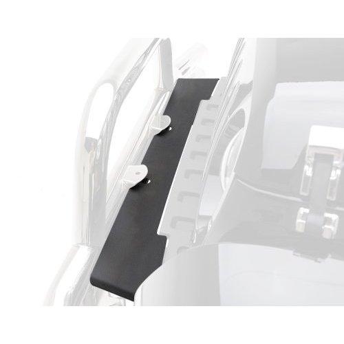 07-18 WRANGLER JK 2/4 DOOR FRAME COVER - FRONT - BLACK TEXTURED