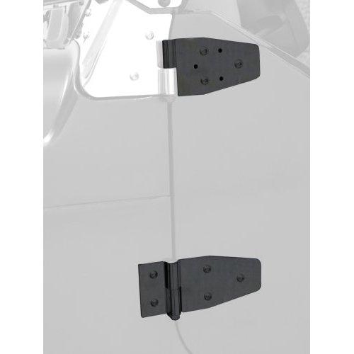87-06 WRANGLER DOOR HINGES - BLACK