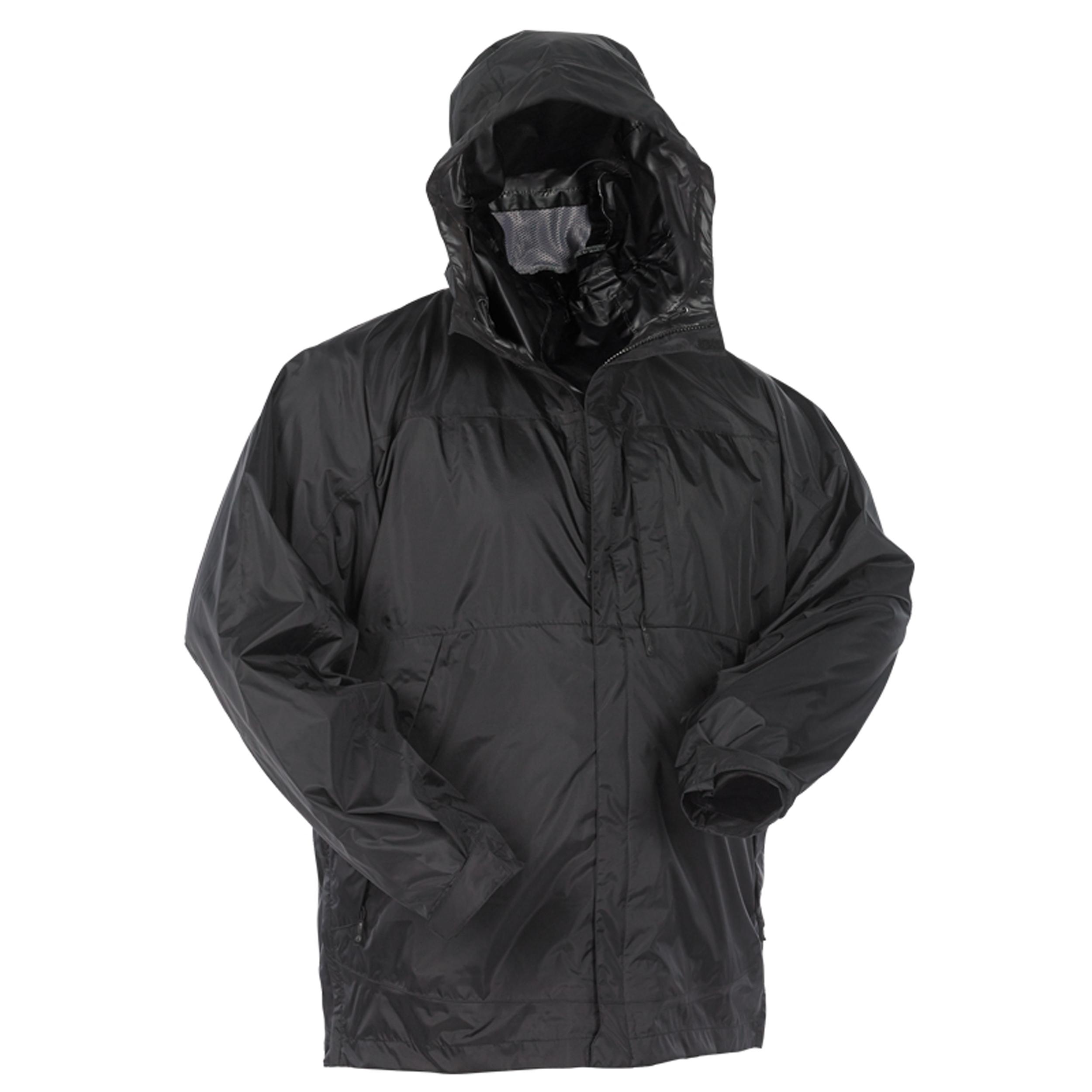 Snugpak Rj1 Rain Jacket Black Lg