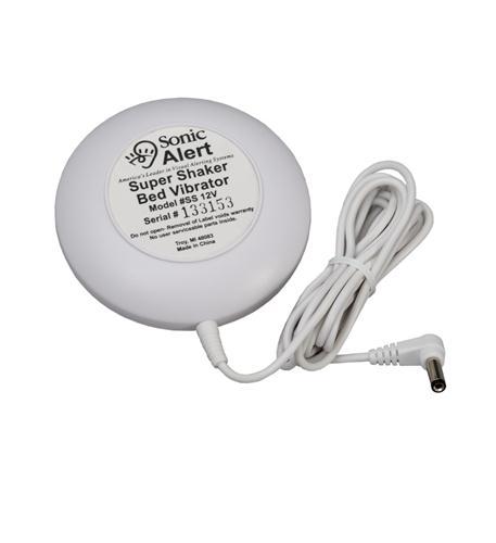 Super Shaker 12v White Vibrator