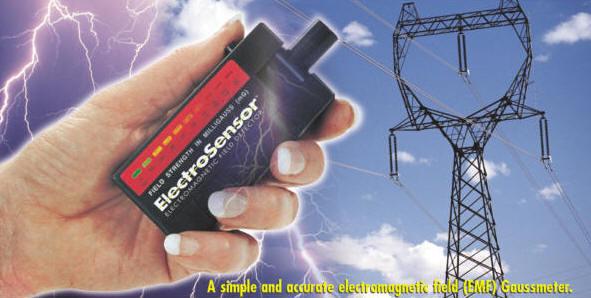 Electrosensor Electromagnetic Field Detector