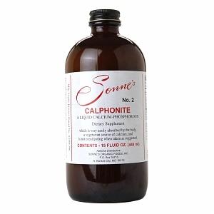 Sonne's Calphonite No 2 Liquid Calcium Phosphorus 15 fl Oz