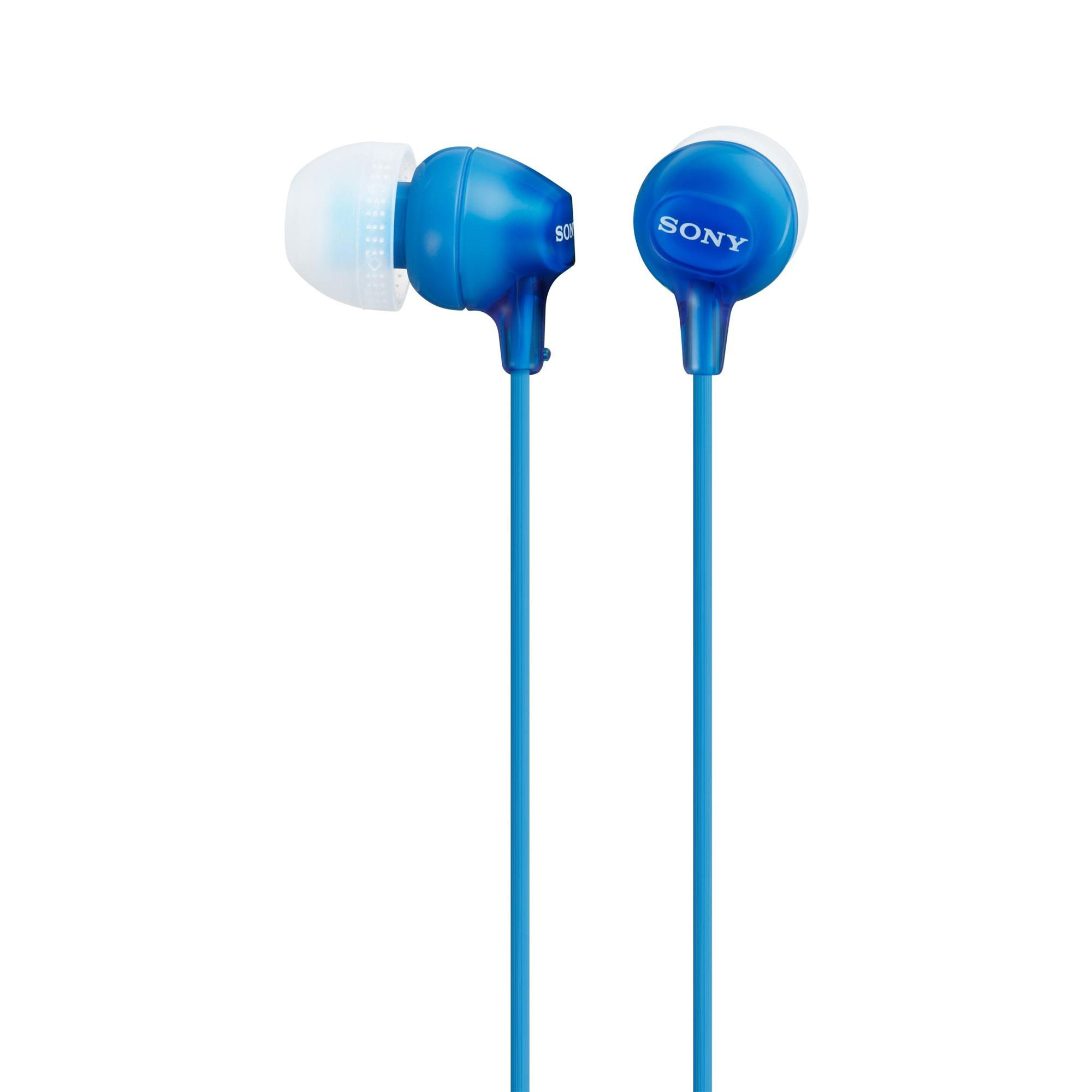 SONY IN-EAR EARBUDS, BLUE