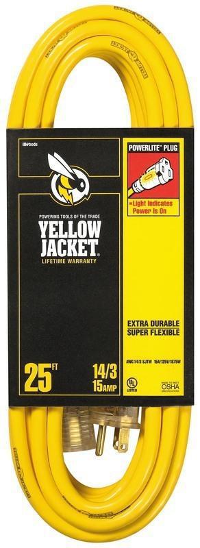 Yellow Jacket 14 3 25' SJTW E