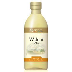 Spectrum Naturals Refined Walnut Oil (12x16 Oz)