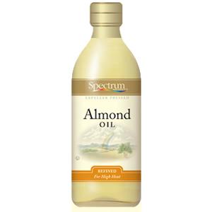 Spectrum Naturals Sweet Refined Almond Oil ( 6x8 Oz)