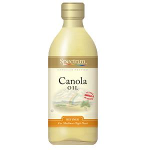 Spectrum Naturals Refined Canola Oil (12x16 Oz)