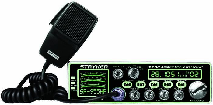 80-90 WATT 10 METER AM/FM/SSB/PA RADIO W/7 COLORS
