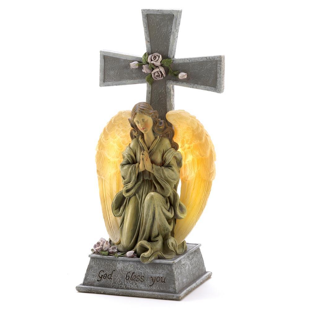 Blessed Cross Solar Light