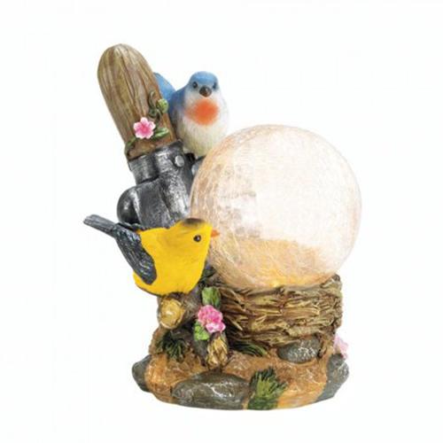 Songbirds Solar Lamp