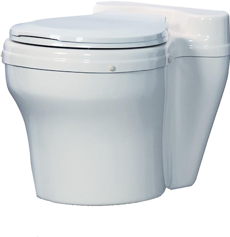 Dry Toilet, White