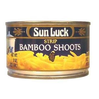 Sun Luck Bamboo Shoots Strp (12x8OZ )