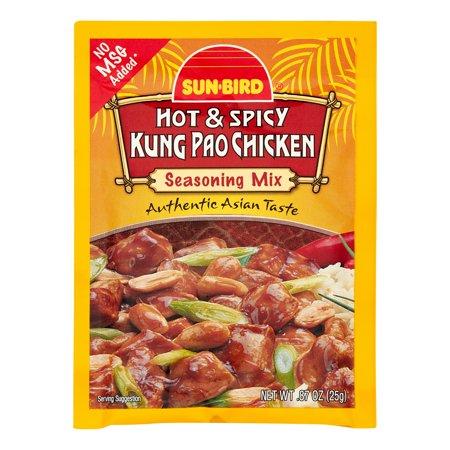 Sunbird Hot & Spicy Kung Pao Chicken Seasoning Mix (24x088 Oz)