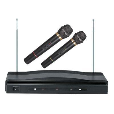 Dual Wireless Microphone