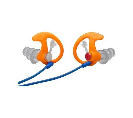 SureFire Triple Flanged Filtered Earplugs Medium 1 Pr Orange