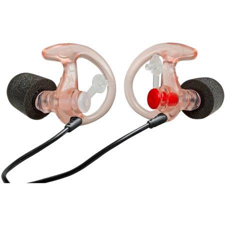 SureFire Comply Foam Tipped Filtered Earplugs Med 25Pr Clear