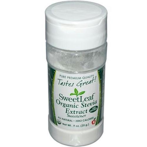 Sweet Leaf Organic White Stevia Powder (1x9 Oz)