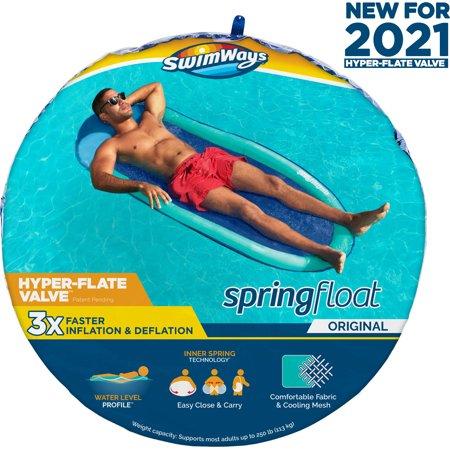 Spring Float  Aqua with PDQ