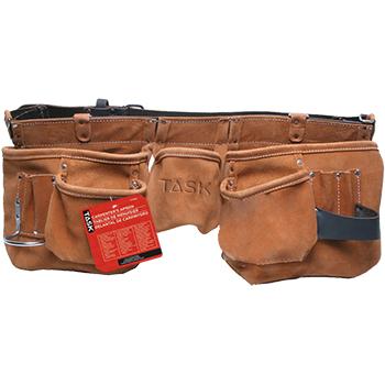 JS - Carpenter's Apron - Leather Belt - Oversize -11 pocket