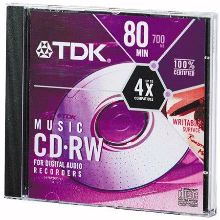 TDK CD-RWinREWRITE=MUSIC 80MIN 10PK S_old