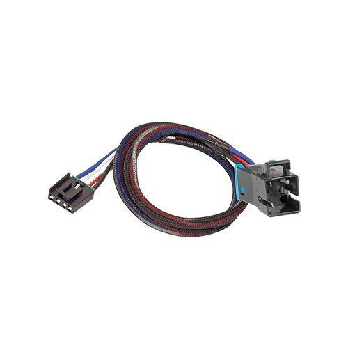 Tekonsha Brake Control Wiring Adapter 2 plugs Freightliner