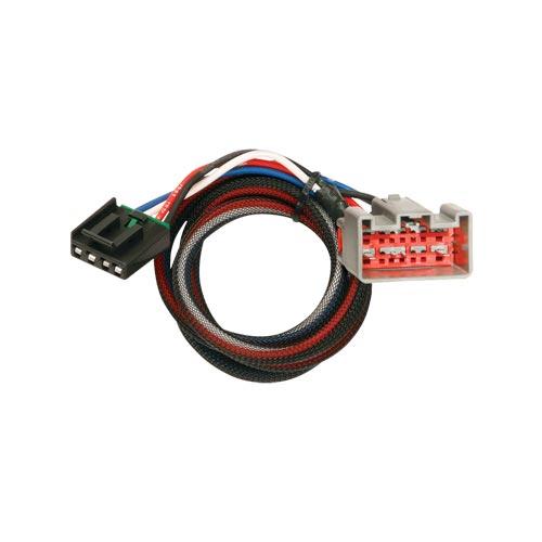 Tekonsha Brake Control Wiring Adapter 2 plugs Ford
