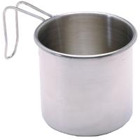 Texsport 13420 Camping Mug, 16 oz, Stainless Steel
