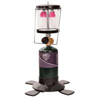 Texsport 14202 Double Mantle Lantern, 6 hr Burning, 16.4 or 14.1 oz Propane Fuel, 600 lumens, Black