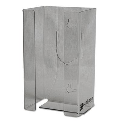 Clear Plexiglas Disposable Glove Dispenser, Single-Box, 5 1/2w x 3 3/4d x 10h
