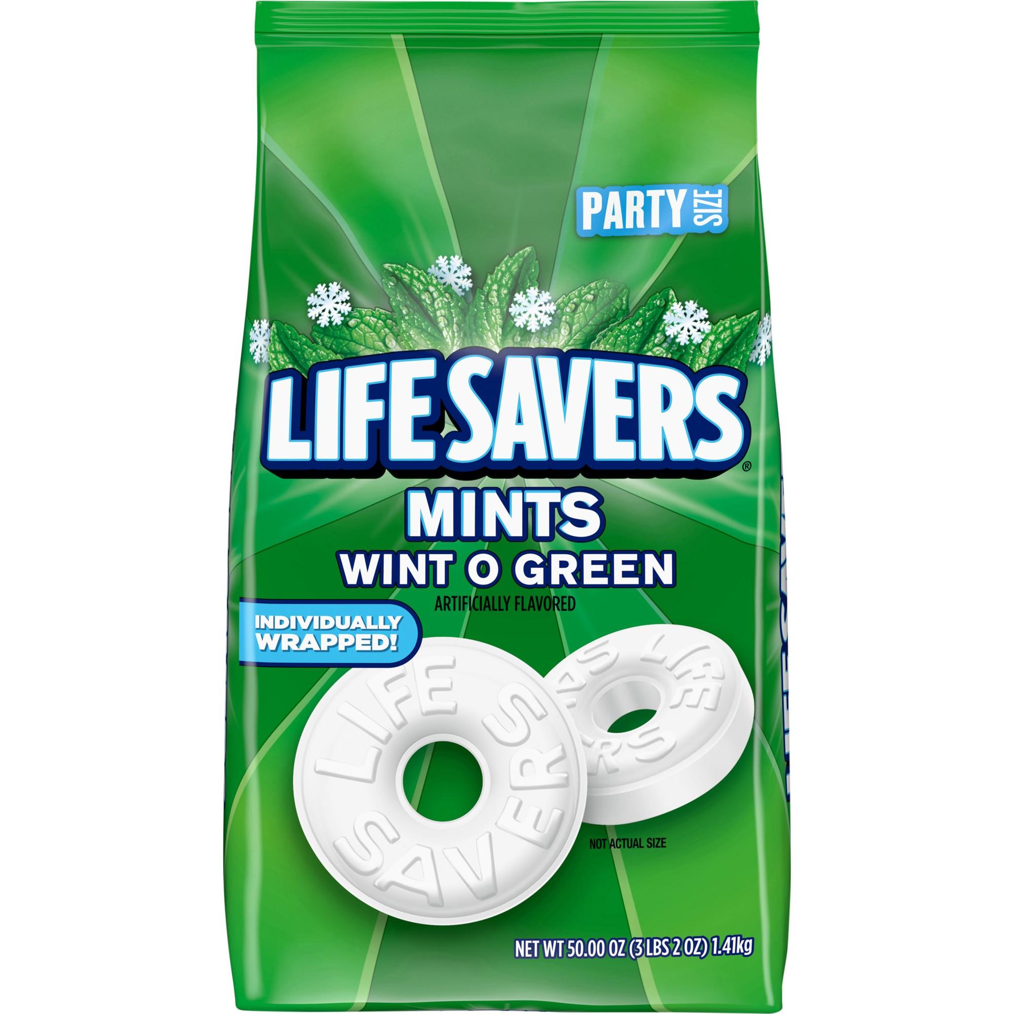 Hard Candy, Wint-O-Green, 50oz Bag