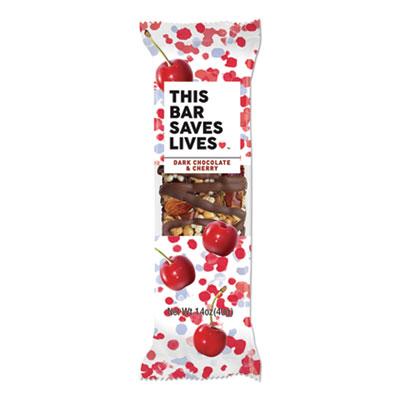 Snackbars, Dark Chocolate and Cherry, 1.4 oz, 12/Box
