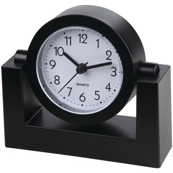 4IN DESKTOP CLOCK BLK