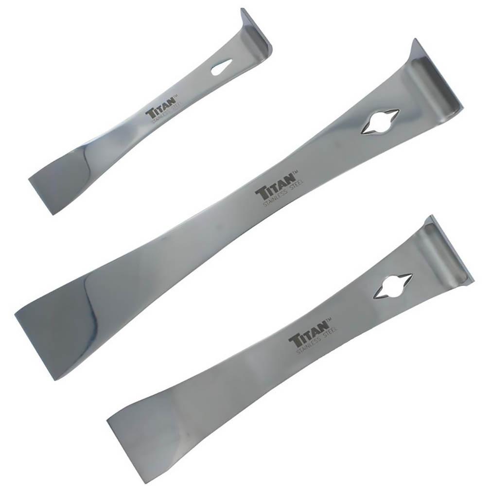 Titan Tool 3 pc Pry Bar Set