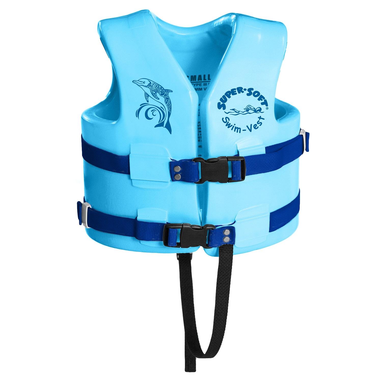 TRC Recreation Super-Soft USCG Child Vest Small Marina Blue
