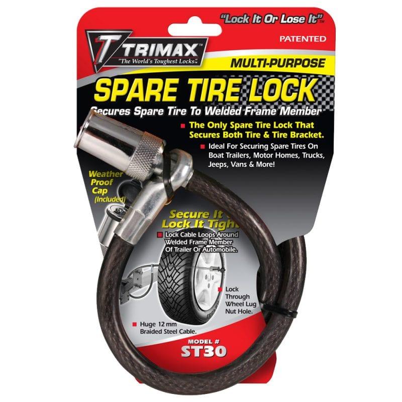 Trimax Trimaflex Spare Tire Cable Lock  36 X 12Mm